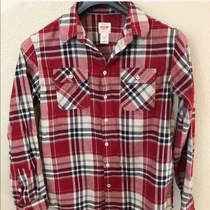 Mossimo plaid casual shirt size L 12/14